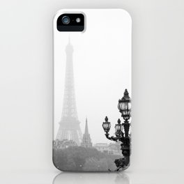 Veiled Eiffel Tower iPhone Case