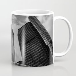 Renaissance Center in Black and White Coffee Mug