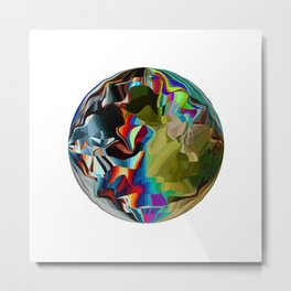 Pixelation  Metal Print