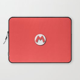The Emblem of the Plumber, Mario Laptop Sleeve