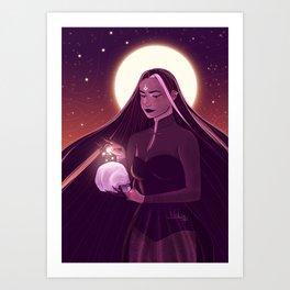 Wicked Witch Art Print