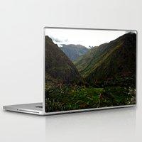 peru Laptop & iPad Skins featuring Rural Peru by miranda stein