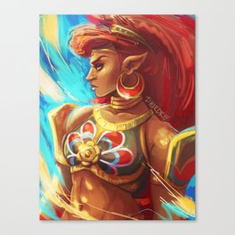 Lady Urbosa Canvas Print