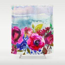 Flowers Bouquet 86 Shower Curtain