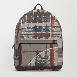 Waterlogged - dot graphic Backpack