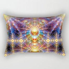 Cosmic Sunrise Rectangular Pillow
