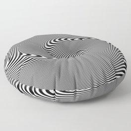 Illusion spirale Floor Pillow