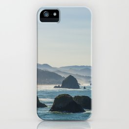 Haystack Rock from Crescent Point iPhone Case