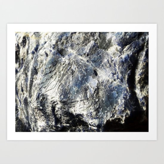 Super Sodalite! Art Print