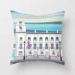 Walton Street Throw Pillow