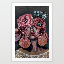 Flora_i Art Print
