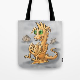 Pumpkin dagon by Dreaingsenga Tote Bag