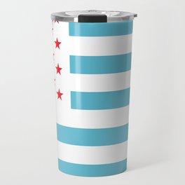 U.S.A. Flag Modified Travel Mug