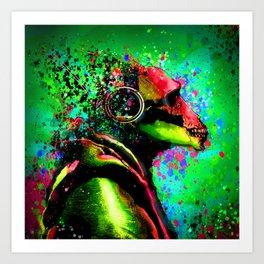 Acid Ape Art Print