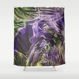 Encaustic V Shower Curtain