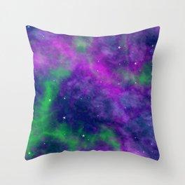 Fantasy Milky Way Throw Pillow