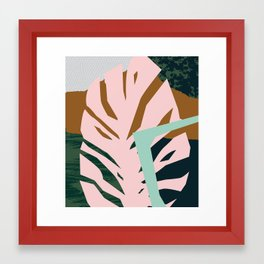 Pattern Study Framed Art Print