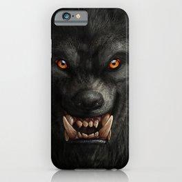 Creepy Art, Halloween, Werewolf, Horror Art iPhone Case
