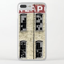Minneapolis Clear iPhone Case