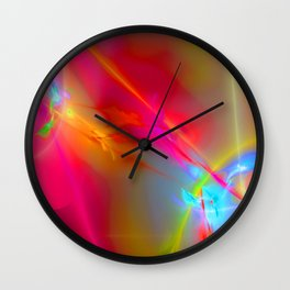abstract lighteffects -13- Wall Clock