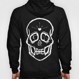 Ride or Die (White) Hoody