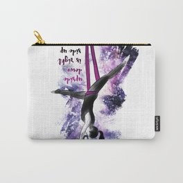 flying colors 04 // aerial. yoga. love. Carry-All Pouch