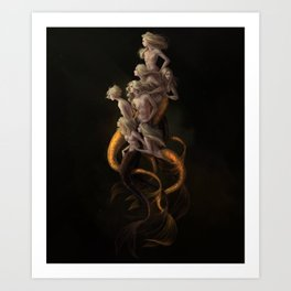 a Shiver Art Print
