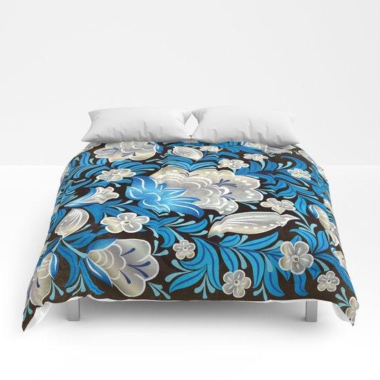 Shabby flowers #7 Comforters