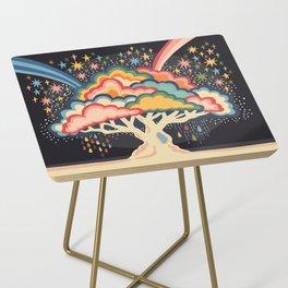 Rainbow tree Side Table