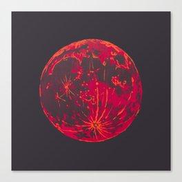 Blood Moon 1 Canvas Print