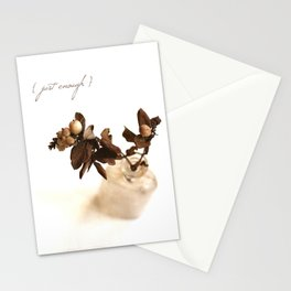 Just Enough Stationery Cards