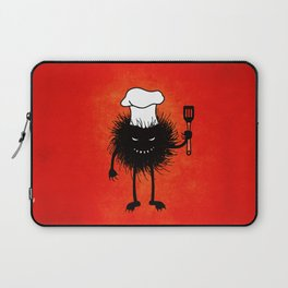 Evil Bug Chef Loves To Cook Laptop Sleeve