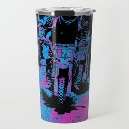 """Born to Race"" Motocross Dirt-Bike Champion Racer Travel Mug"