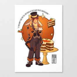 March Hare Hunk Canvas Print