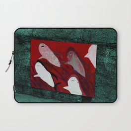 red sharks Laptop Sleeve