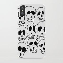 Skulls-1 iPhone Case