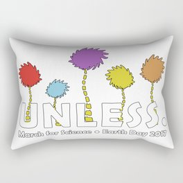 Unless March For Science Rectangular Pillow