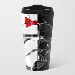 Mini Trooper vs. Vader Mouse Metal Travel Mug