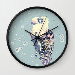 A Soft Eagle Wall Clock