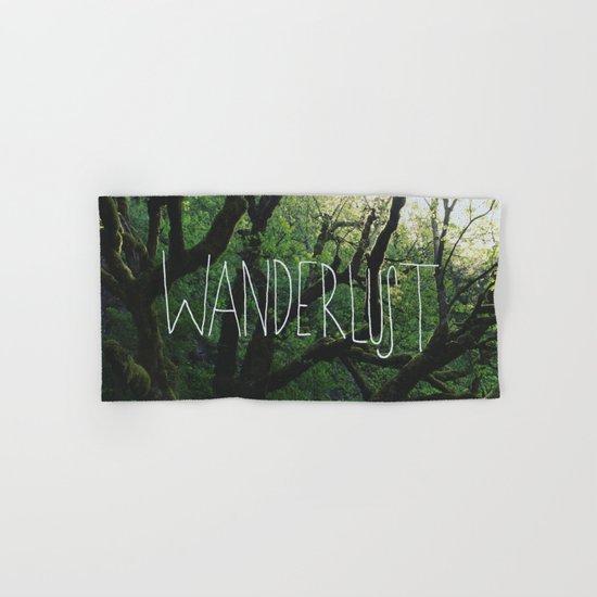 Wanderlust Hand & Bath Towel