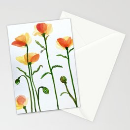 California poppies no. 1 Stationery Cards
