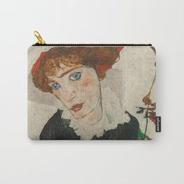 Portrait of Wally by Egon Schiele Carry-All Pouch