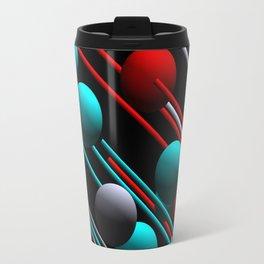 balls and 3 colors Travel Mug