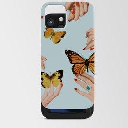 Social Butterflies iPhone Card Case