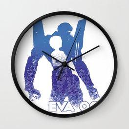Rei Ayanami EVA 00 - Evangelion Wall Clock