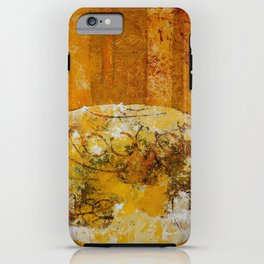 Encrypted message iPhone Case