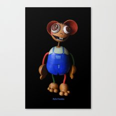 Rafa Favolas Canvas Print