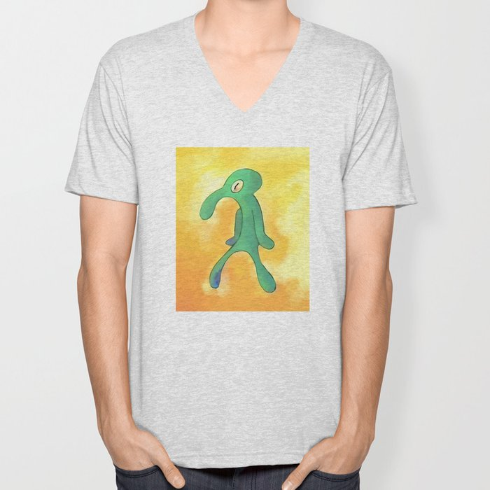 High Res Bold and Brash Repaint Painting Unisex V-Neck