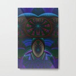 Darma Abstract Art Metal Print