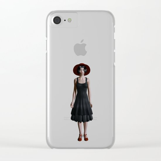 Road of girls Clear iPhone Case